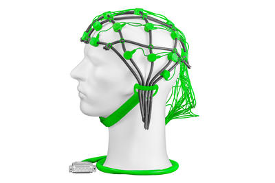 Comby cap green with 22 sintered electrodes